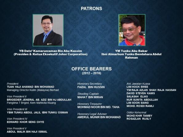 COMMITTEE MEMBERS 2012-16